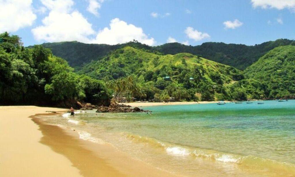Castara Retreats Bay and two beaches